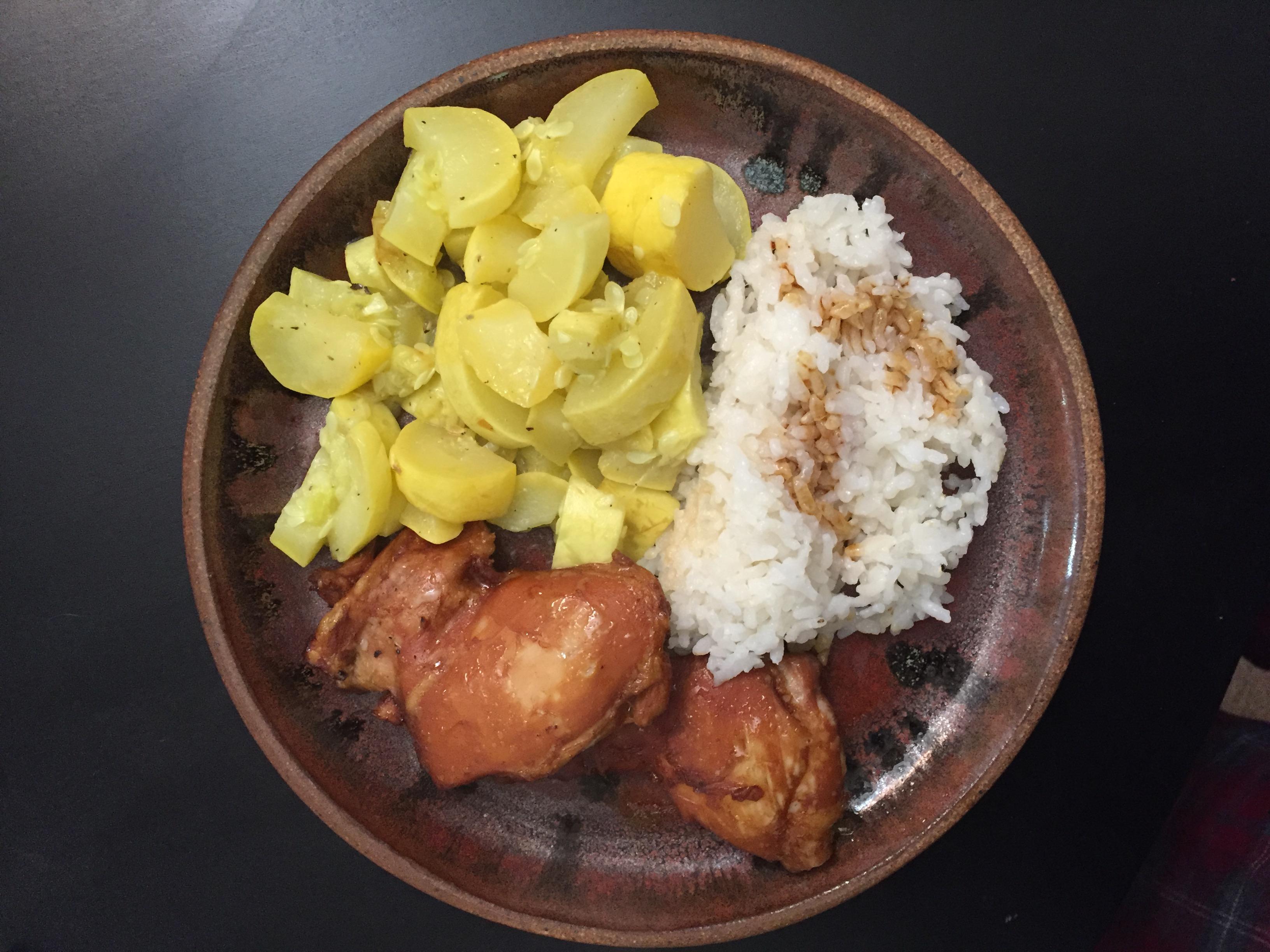 Gluten Free Dairy Free Teriyaki Chicken and Rice