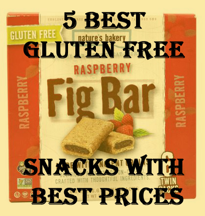 5 Best Gluten Free Snacks With Best Prices