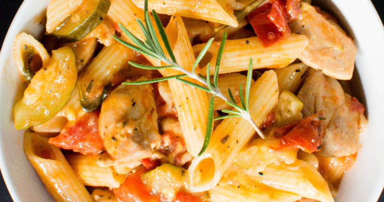 Easy Quick and Delicious Italian Gluten Free and Dairy Free Pasta