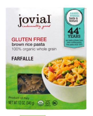 gluten free pasta jovial