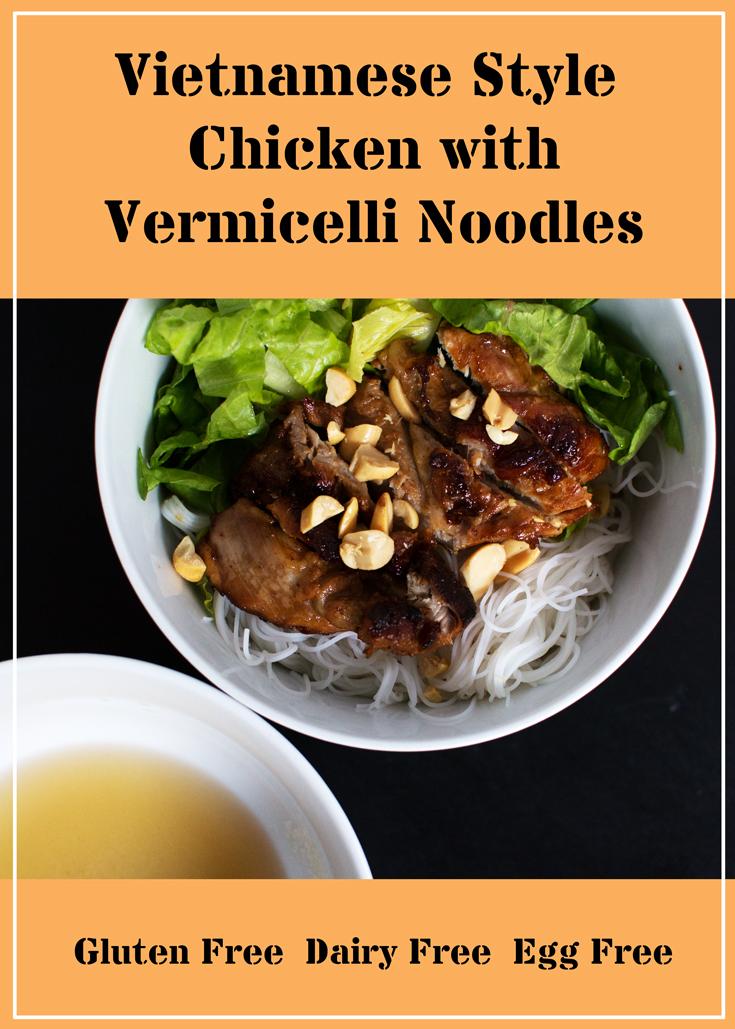 noodle bowl Vietnamese style